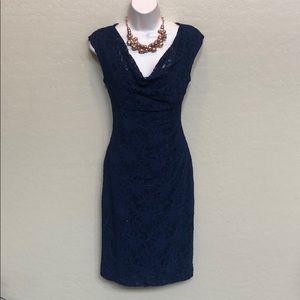 Ralph Lauren Blue Dress Size 8